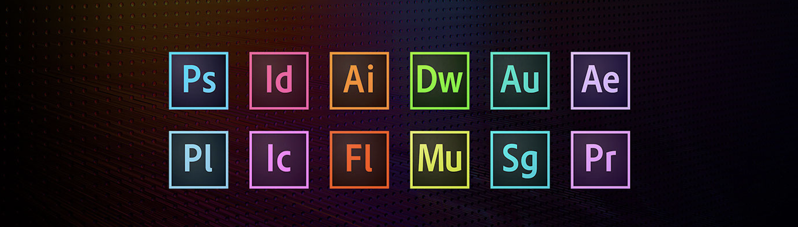 Adobe Creative Suite Video and Photo Editing Software
