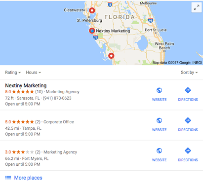 Nextiny Inbound Marketing Google Ranking