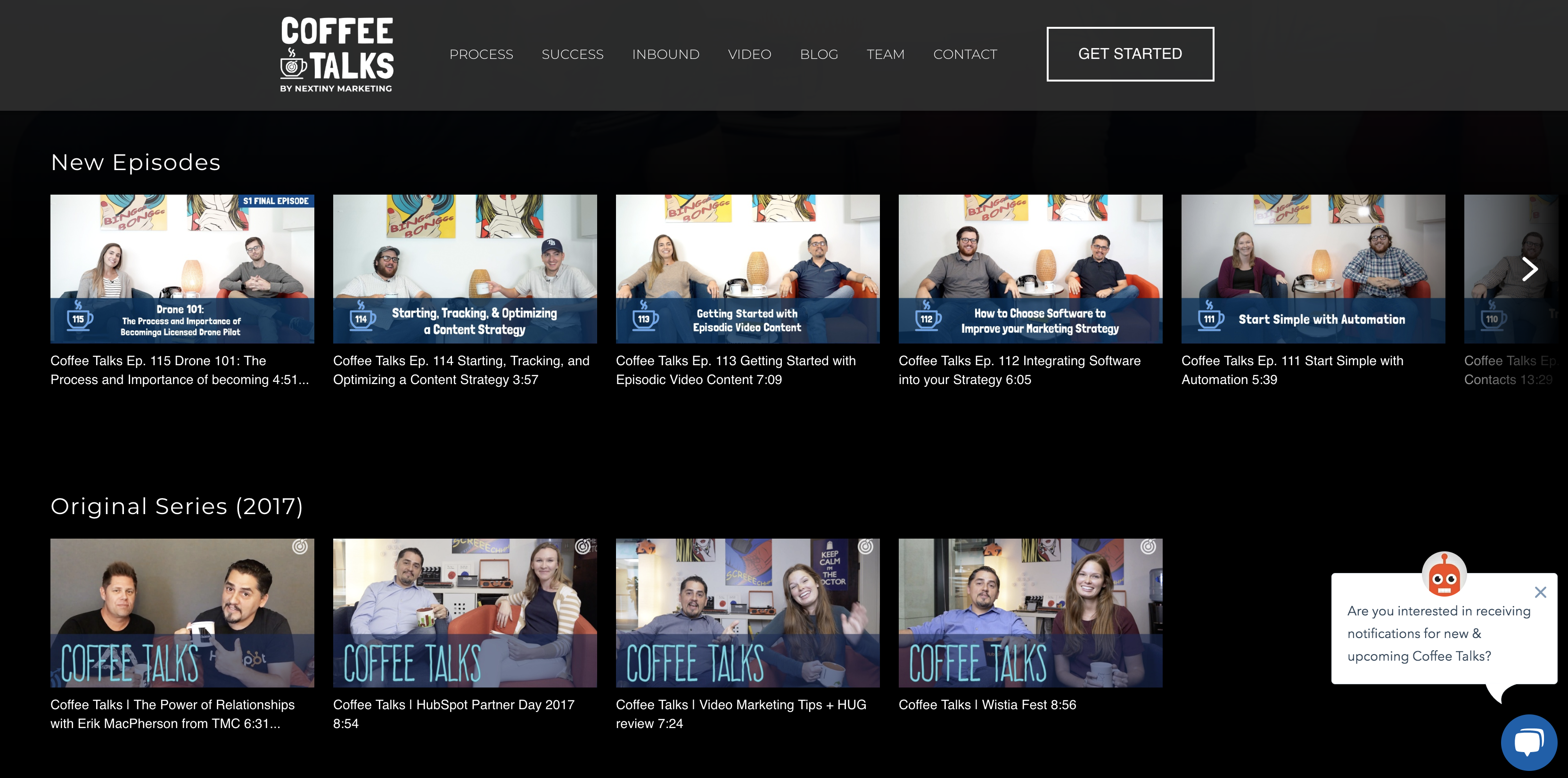 Wistia Channels. Video Gallery in Netflix format. Great for Video SEO