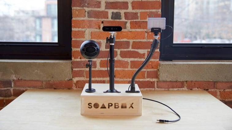 wistia soapbox station
