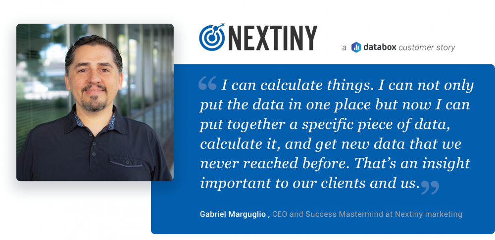 Nextiny Marketing Databox Gabriel Marguglio