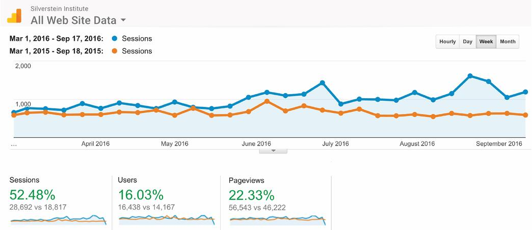 Google Analytics - Website Traffic