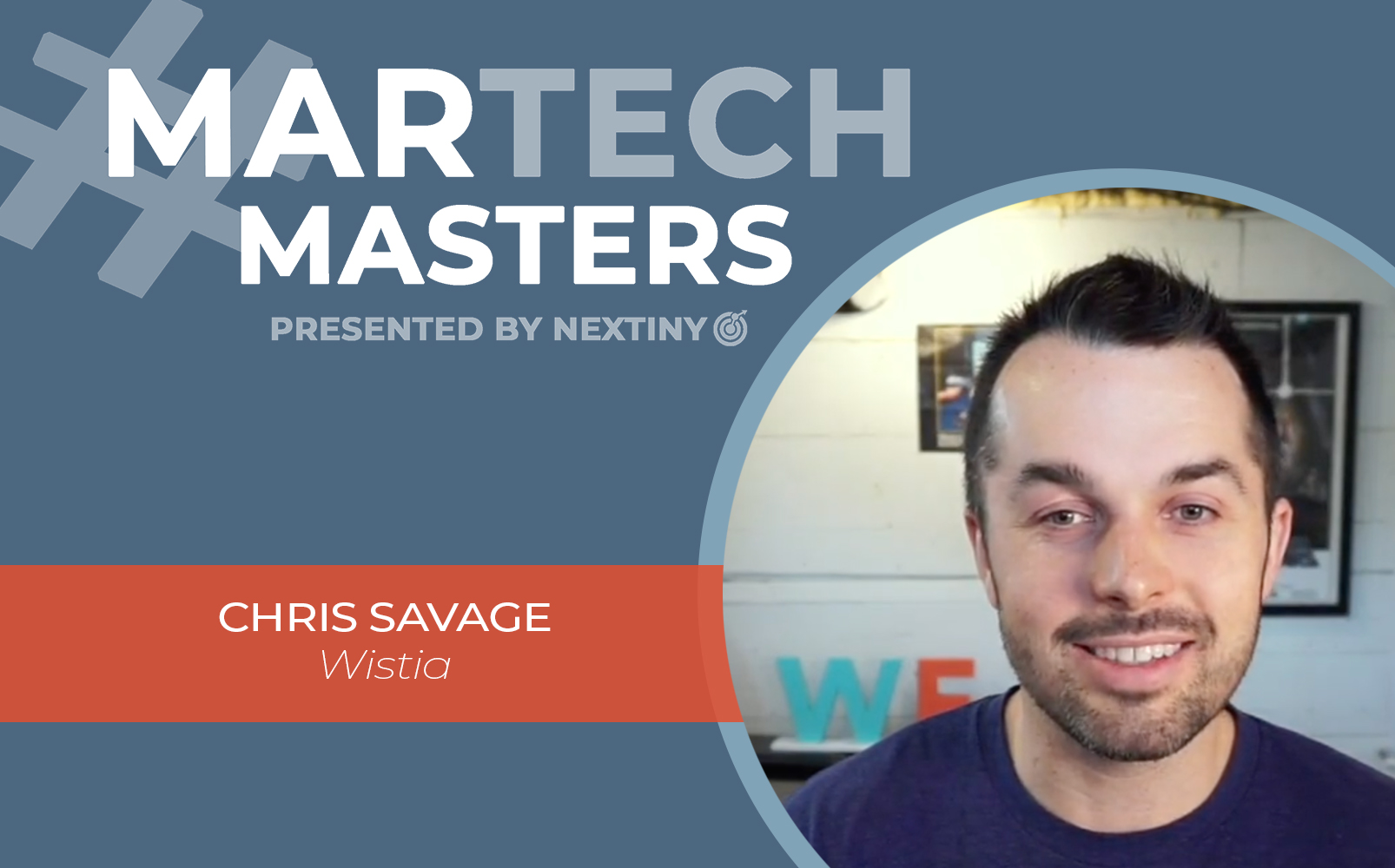 chris savage martech masters wistia
