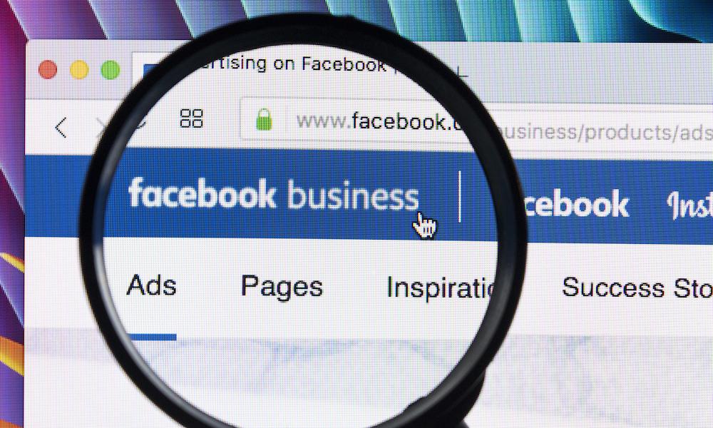 Facebook ads business