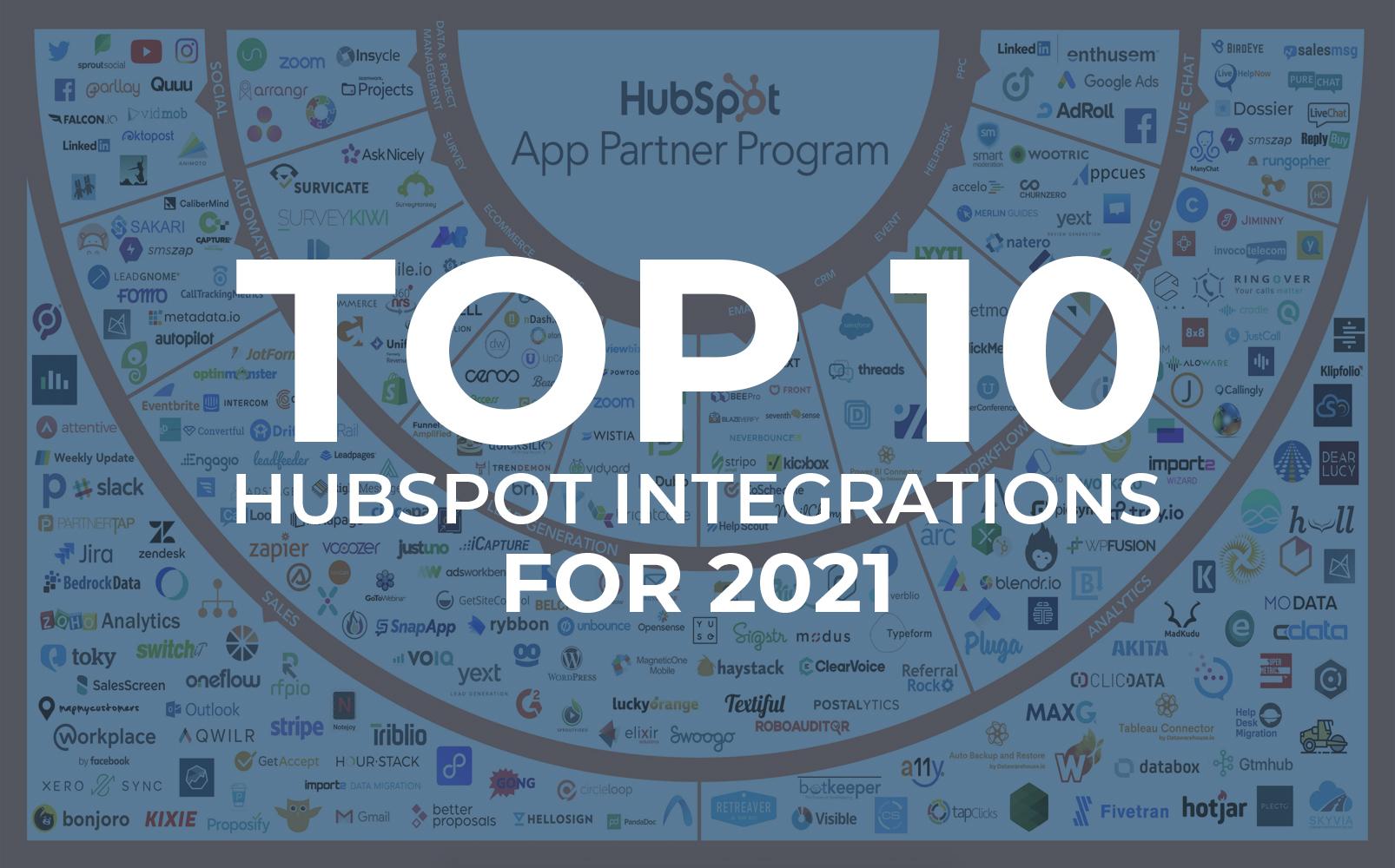 best hubspot integrations 2021