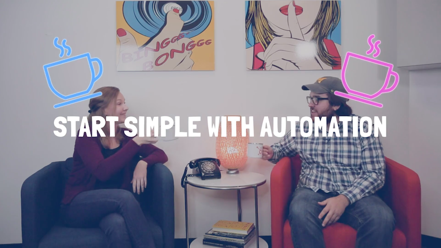 coffee talks 111 start simple with automation header